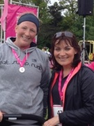 I did a 5k and met Lorraine Kelly when Rose was about 3 months old