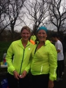 This is us after Amys 1st parkrun