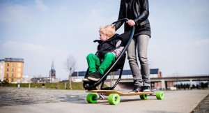 The Longboard Stroller by Quinny